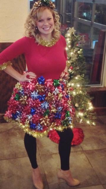 Tacky Christmas Outfits.Diy Tacky Christmas Dress Phileo Life Love